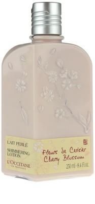 L'Occitane Fleurs de Cerisier telové mlieko