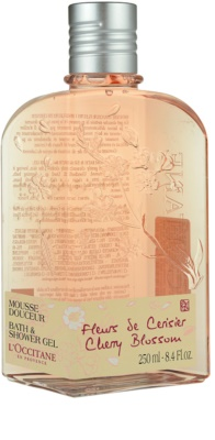 L'Occitane Fleurs de Cerisier gel za prhanje