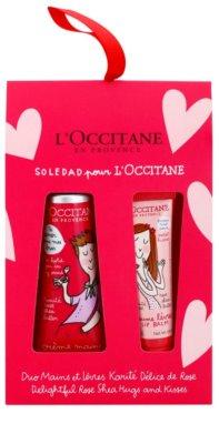 L'Occitane Hugs and Kisses zestaw kosmetyków I.