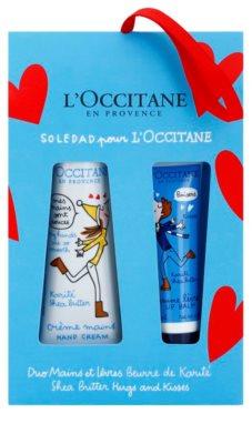 L'Occitane Hugs and Kisses lote cosmético II.