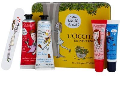 L'Occitane Hugs and Kisses lote cosmético III.