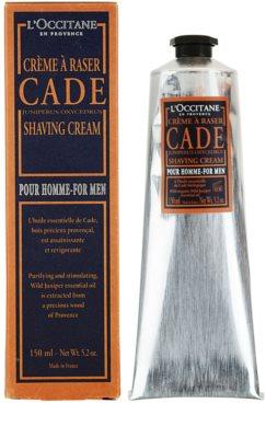 L'Occitane Pour Homme крем за бръснене 1