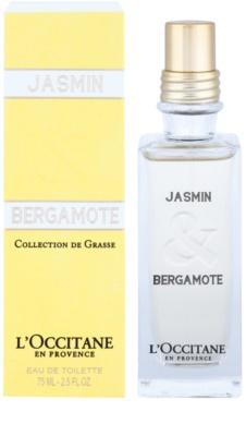 L'Occitane Jasmin & Bergamot Eau de Toilette para mulheres