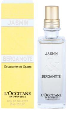 L'Occitane Jasmin & Bergamot Eau de Toilette pentru femei