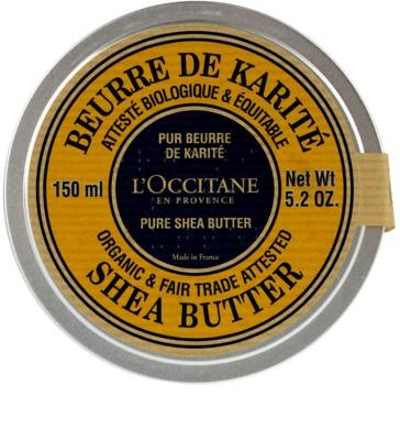 L'Occitane Karité tělové máslo pro všechny typy pokožky