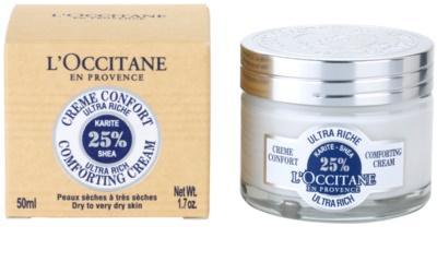 L'Occitane Karité crema facial calmante nutritiva 2