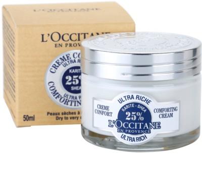 L'Occitane Karité crema facial calmante nutritiva 3