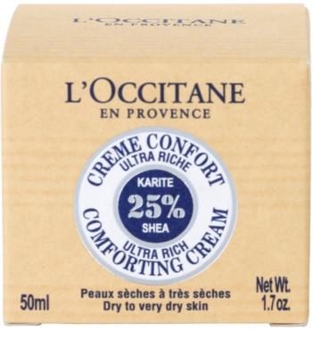 L'Occitane Karité crema facial calmante nutritiva 4