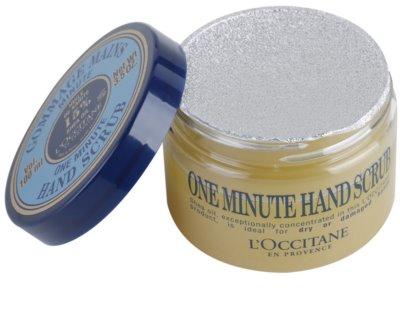 L'Occitane Karité скраб для рук 2