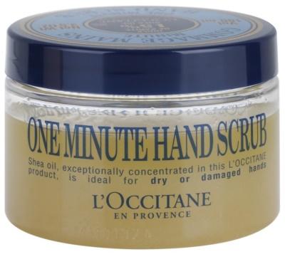 L'Occitane Karité exfoliante para manos