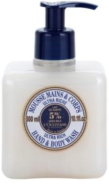 L'Occitane Karité extra gyengéd szappan kézre és testre