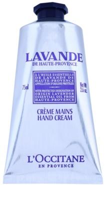 L'Occitane Lavande crema para manos y uñas con manteca de karité