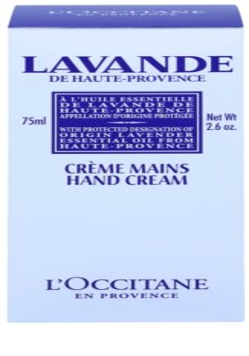 L'Occitane Lavande крем за ръце и нокти с масло от шеа 2