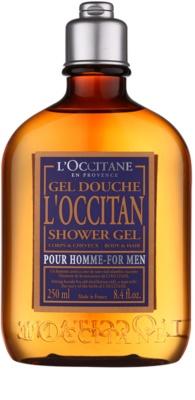 L'Occitane L´Occitan gel za prhanje za telo in lase za moške