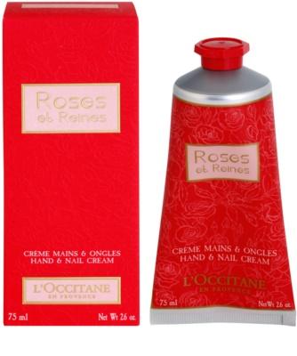 L'Occitane Rose crema de manos con olor a rosa 1