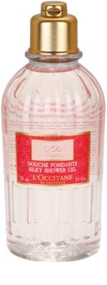 L'Occitane Rose gel de ducha suave