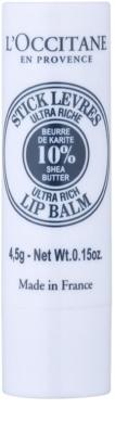 L'Occitane Shea Butter Lippenbalsam mit Bambus Butter