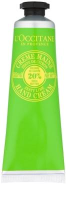L'Occitane Shea Butter крем для рук з ароматом лайму