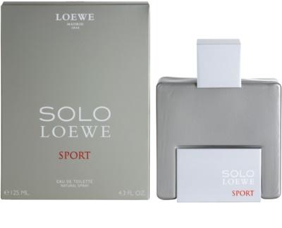 Loewe Solo Loewe Sport Eau de Toilette para homens