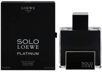 Loewe Solo Loewe Platinum Eau de Toilette for Men