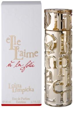 Lolita Lempicka Elle L'aime A La Folie Eau de Parfum para mulheres