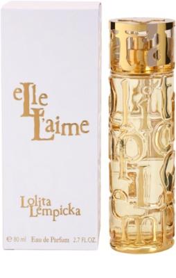 Lolita Lempicka Elle L'aime eau de parfum nőknek