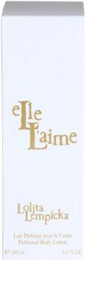 Lolita Lempicka Elle L'aime Lapte de corp pentru femei 3