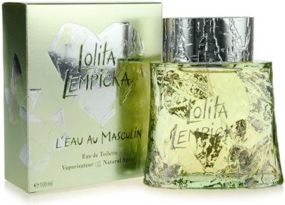 Lolita Lempicka L`Eau Au Masculin Eau de Toilette para homens 1