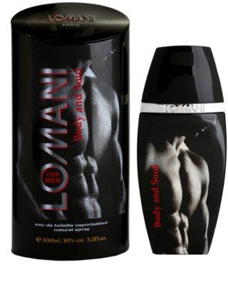 Lomani Body & Soul eau de toilette férfiaknak