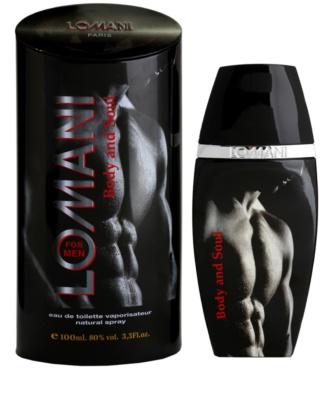 Lomani Body & Soul Eau de Toilette para homens
