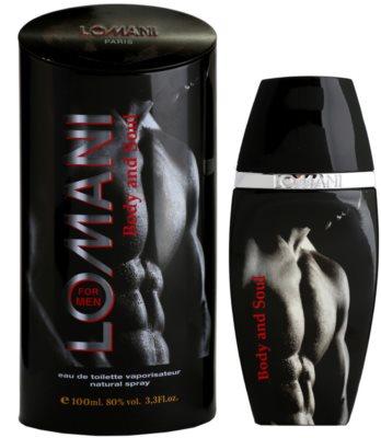 Lomani Body & Soul туалетна вода для чоловіків