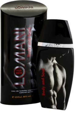 Lomani Body & Soul eau de toilette férfiaknak 1