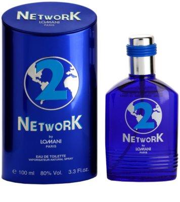 Lomani Network Blue eau de toilette férfiaknak