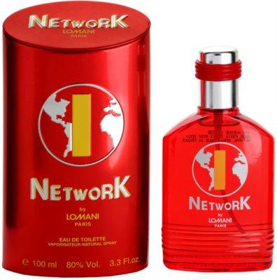Lomani Network Red Eau de Toilette für Herren