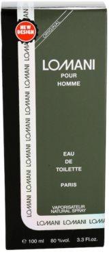 Lomani Pour Homme Eau de Toilette para homens 4