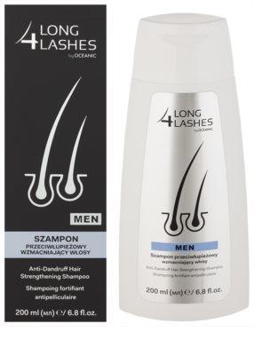 Long 4 Lashes Hair szampon wzmacniający przeciwłupieżowy dla mężczyzn 1