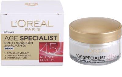 L'Oréal Paris Age Specialist 45+ денний крем проти зморшок 2