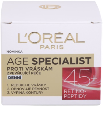 L'Oréal Paris Age Specialist 45+ денний крем проти зморшок 3