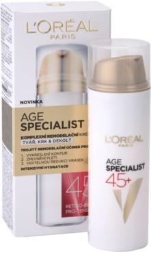 L'Oréal Paris Age Specialist 45+ remodellierungs Creme gegen Falten 2