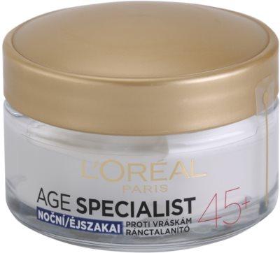 L'Oréal Paris Age Specialist 45+ crema de noapte antirid