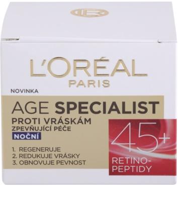 L'Oréal Paris Age Specialist 45+ crema de noapte antirid 3