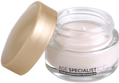 L'Oréal Paris Age Specialist 55+ krema za predel okoli oči proti gubam 1