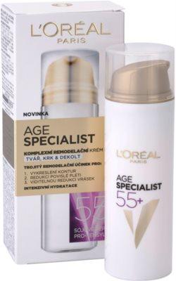 L'Oréal Paris Age Specialist 55+ remodelační krém proti vráskám 2