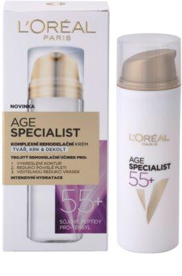 L'Oréal Paris Age Specialist 55+ remodelační krém proti vráskám 3