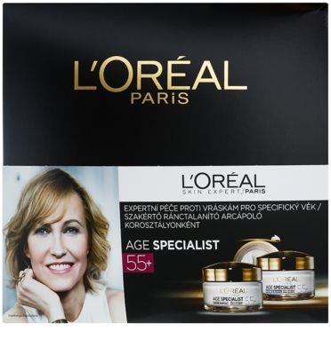 L'Oréal Paris Age Specialist 55+ kozmetični set I. 1