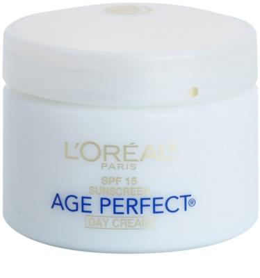 L'Oréal Paris Age Perfect krem nawilżający na dzień przeciw starzeniu skóry SPF 15