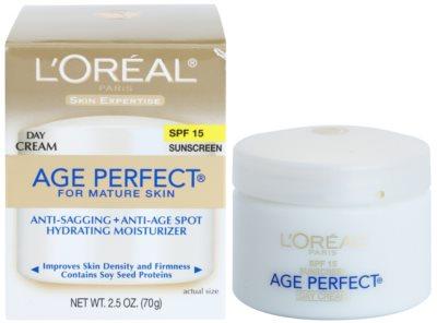 L'Oréal Paris Age Perfect denní hydratační krém proti stárnutí pleti SPF 15 2