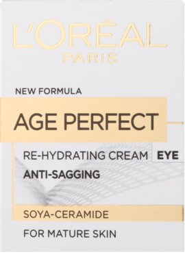 L'Oréal Paris Age Perfect crema de ochi hidratanta  pentru ten matur 2
