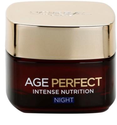 L'Oréal Paris Age Perfect éjszakai revitalizáló és megújjító krém érett bőrre