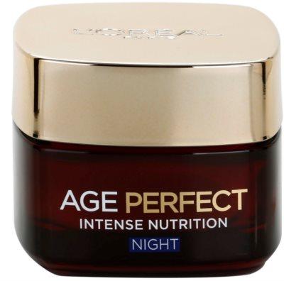 L'Oréal Paris Age Perfect Revitalisierende und erneuernde Nachtcreme für reife Haut